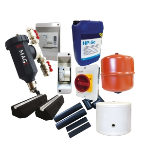 Grant Aerona 3 Installation Pack 2 (Incl. Eight Core Accessories Plus A 30L Insulated Volumiser)