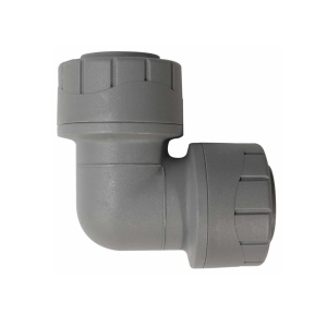 Polypipe PolyPlumb Elbow Grey 15mm - PB115
