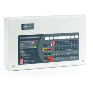 C-tec CFP708-4 Standard 8 Zone Conventional Fire Alarm Panel