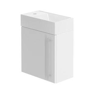 Be Modern 400mm Hand Basin Unit White Gloss