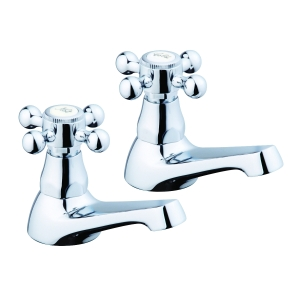 iflo Tatton Bathroom Basin Pillar Taps