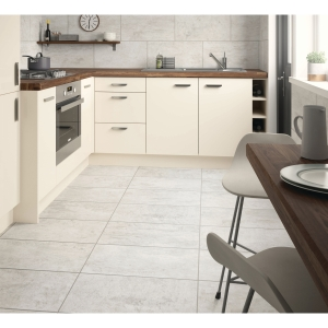 Ivinghoe Stone Grey Matt Wall & Floor Tile 600 x 300 mm (Pack Of 5)