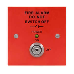 Esp Magisorp Fire Panel Isolator Switch Red