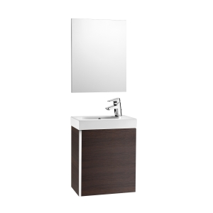 Roca Mini A855865154 Unit Pack With Mirror Wenge