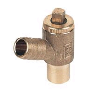 PlumbRight Type A Drain Off Cock 15mm
