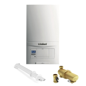 Vaillant EcoFIT Pure 830C 30kW Combi Boiler With Horizontal Flue, Advance Filter And 10 Year Warranty 10020390
