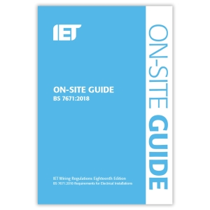 Iet 18TH Edition Onsite Guide
