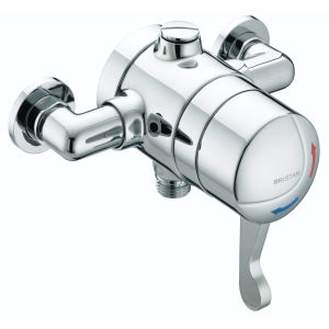 Bristan Gummers Sirrus Op TS1503 El C Opac TS1503 Exposed Lever Chrome Shower Valve
