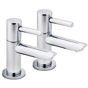 iflo Aura Bathroom Basin Taps Chrome