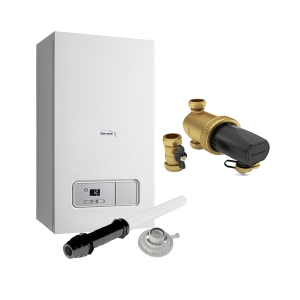 Glow-worm Ultimate3 30kW Combi Boiler With Vertical Flue, Power Filter And 10 Year Warranty 10021404
