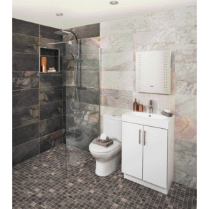 Aspen Silver Grey Textured Wall & Floor Tile 598 x 298mm (Pack Of 6)