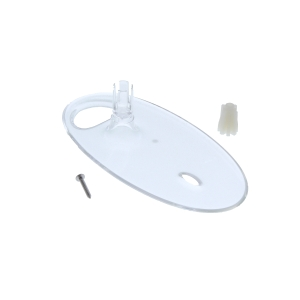 Mira 1.1703.272.1 L16B Soap Dish for 19mm Rails Clear