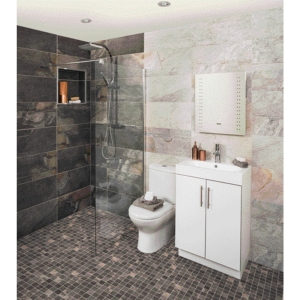 Aspen Carbon Grey Textured Wall & Floor Tile 598 x 298 mm (Pack Of 6)