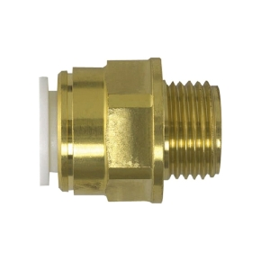 "JG Speedfit Brass Male Coupler 22mm x 3/4"" MW012206N"