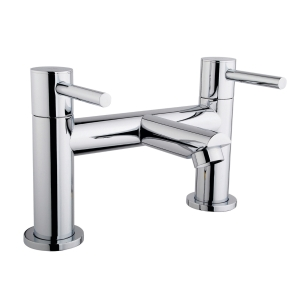 iflo Aura Deck Bath Filler Tap Chrome