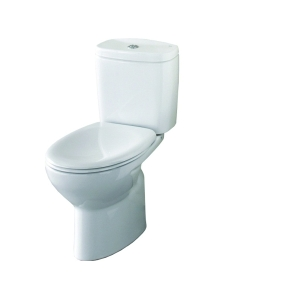 Roca Laura Eco Close Coupled Toilet & Soft Close Seat