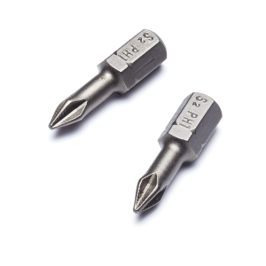 Punk No.1 Phillips Torsion Screwdriver Bit - Pack of 2