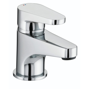 Bristan Quest Basin Mixer Tap with Clicker Waste