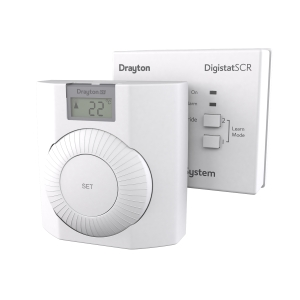 Drayton Digistat+ RF Wireless Programmable Room Thermostat with SCR RF601N