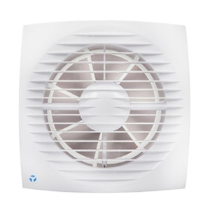 Airflow Aura Eco 150mm Budget Toilet Fan With Timer
