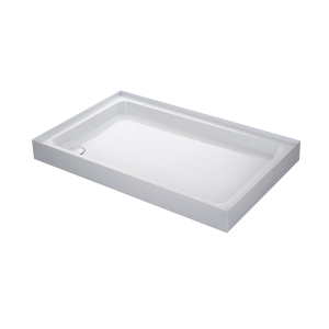 Mira Flight 1200x800mm Shower Tray (4 Upstands & Waste)