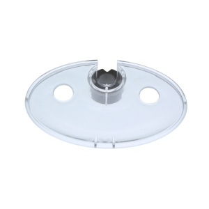 Trevi E960691NU Ellipse Soap Dish for 22mm/25mm Rails Clear