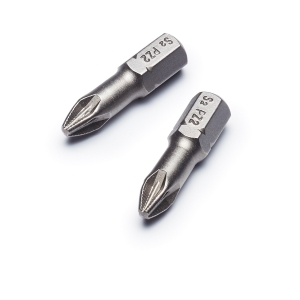 Punk Pozi No.2 x 25mm Pozi Torsion Screwdriver Bit - Pack of 2