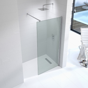Kudos Ultimate2 10 mm Shower Enclosure Panel 1000 mm 10WP1000