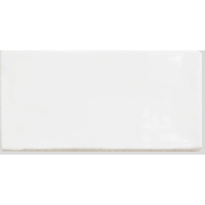 Cottage White Ceramic Wall Tile 150 x 75mm (Pack Of 38)