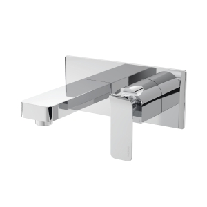 Bristan Avesso Wall Mounted Bathroom Mixer Filler Tap Chrome