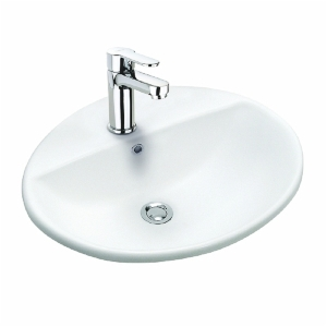 Twyford Vanity Basin 550mm 1 Tap Hole