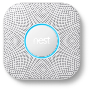Google Nest Protect Smoke & Carbon Monoxide Alarm - Battery - 2nd Generation