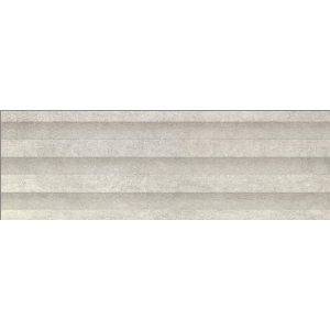 Leeds Grey Matt Structured Wall Tile 900 x 300 mm (Pack Of 4)