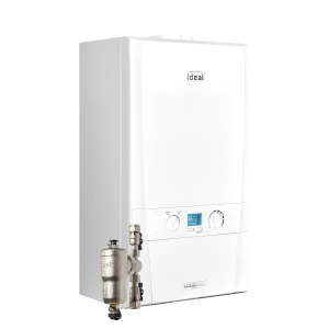 Ideal Logic Max H18 18kW Heat Only Boiler With Horizontal Flue And System Filter 218865
